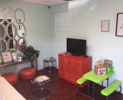West Palm Beach waiting area